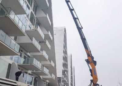 Bølgen Vejle - Knud Gade hejser byggematerialer 1