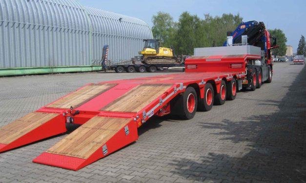Ny 4-akslet blokvogn og specialtrailer