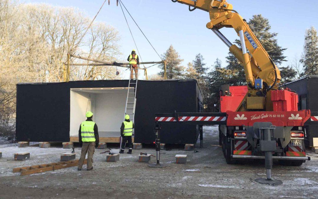 Flygtningelejre får nye pavilloner