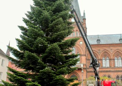 Juletræ Rådhustorvet Vejle Knud Gade 2
