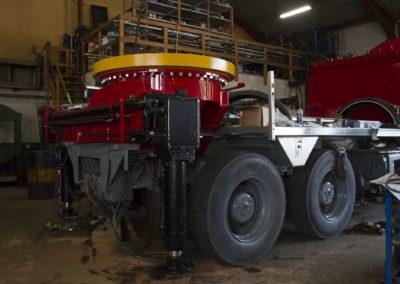 Knud Gade - Nye lastbilkraner opbygges 5