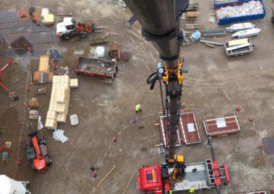 Montering altaner Vejle Havn 3