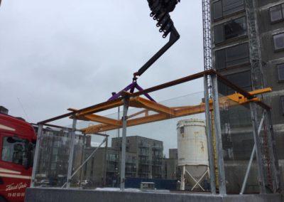 Montering altaner Vejle Havn 4
