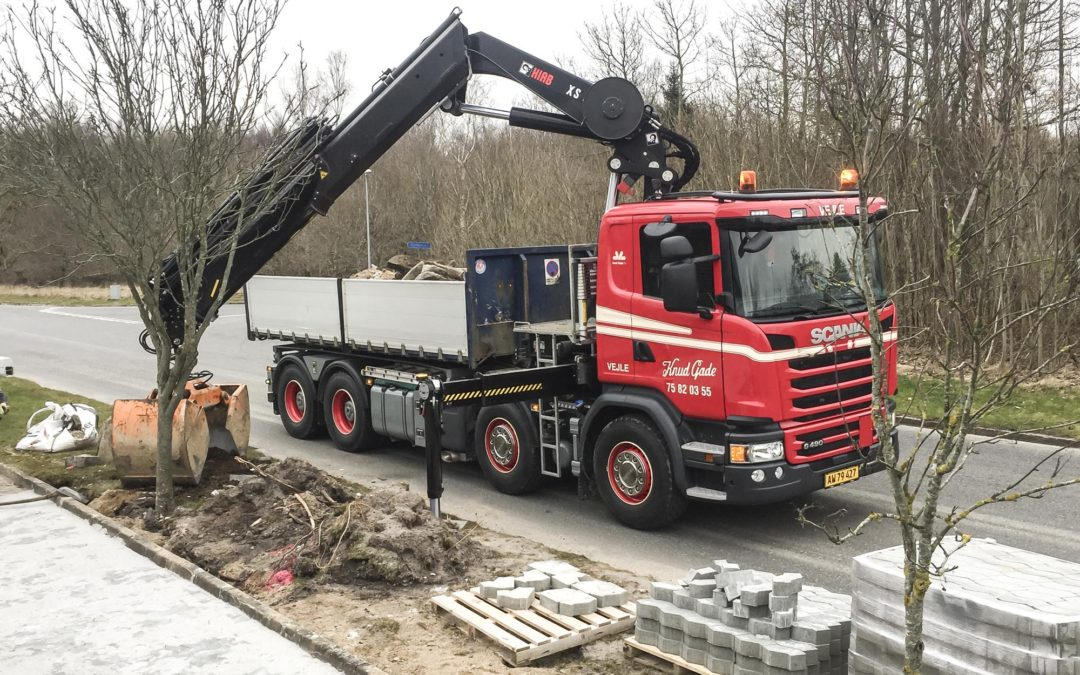 Ny 4-akslet Scania kranvogn til alsidige opgaver