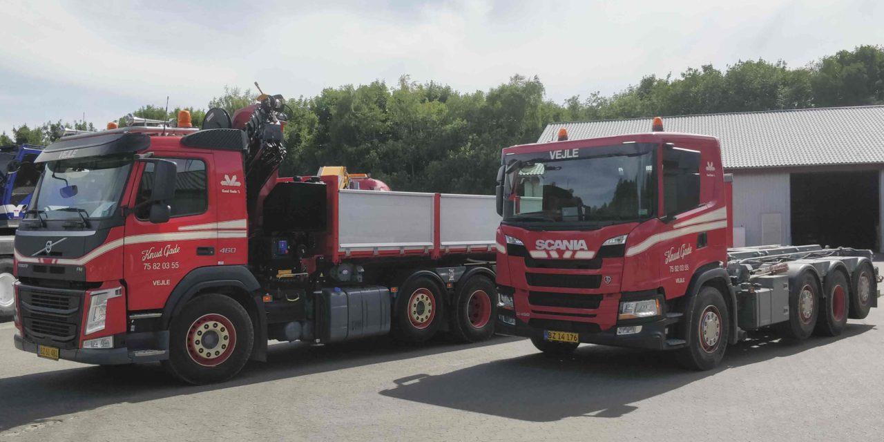To nye biler i Knud Gade A/S
