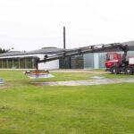 Udlægning af køreplader ved My Garage i Vejle