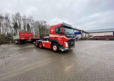 Ny Volvo trækker med Hardox Trailer 3