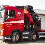 Opruster vognpark med ny lastbilkran