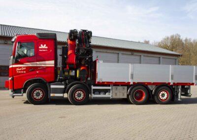 Knud Gade opruster vognpark med ny lastbilkran 2