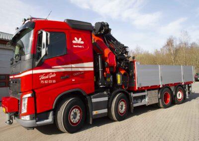 Knud Gade opruster vognpark med ny lastbilkran 3